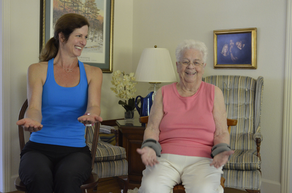 Seated Exercises Strength Stability Mill Valley Personal Trainer Cindy Mack