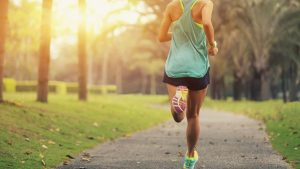 Running, jogging waliking with Cindy Mackenzie of Marin Courty Mobile Personal Trainer